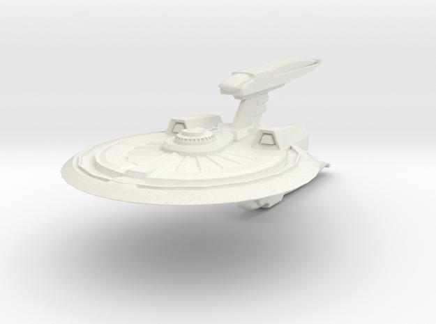 Wildcat Class Destroyer in White Natural Versatile Plastic