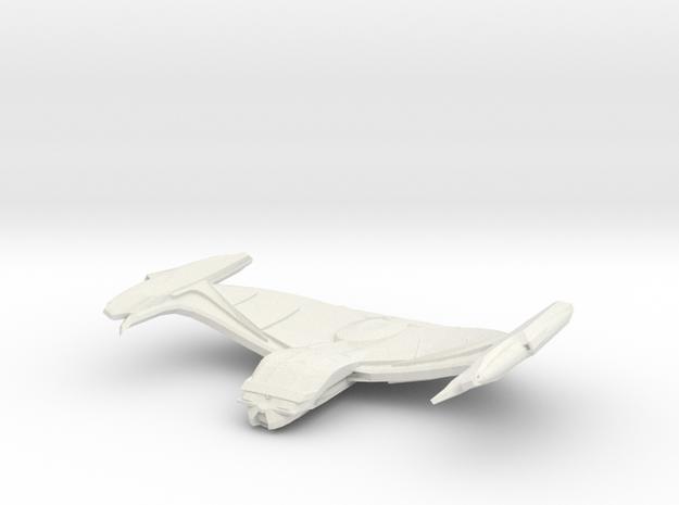 Comet Class Cruiser in White Natural Versatile Plastic