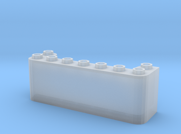 windscreen v 7stud (Test) 3d printed
