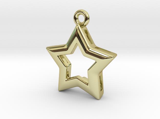 Star in 18k Gold