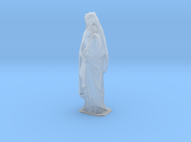 1:48 Madonna And Child 10' Statue