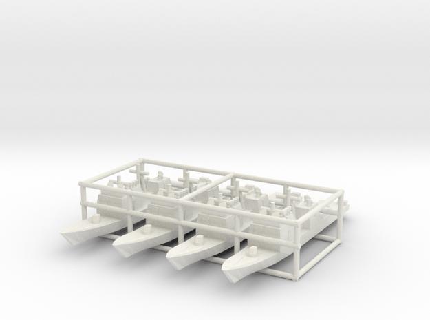 Ticonderoga class cruiser x4 1/4100 3d printed