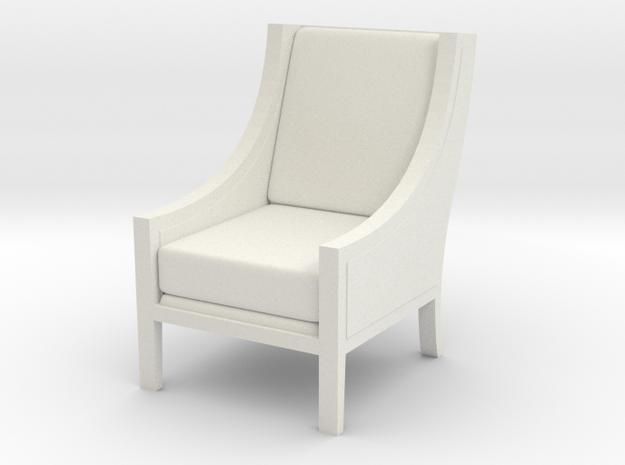 1:24 Scoop Chair 3d printed