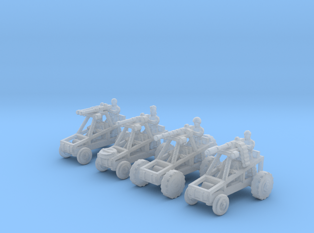 6mm Buggy Raiders x4 in Frosted Ultra Detail