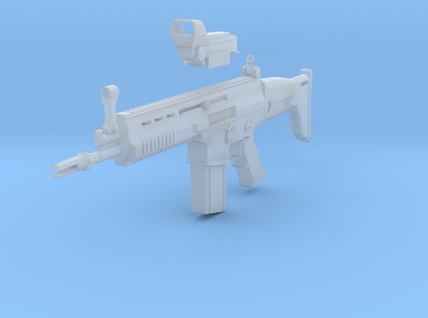 SCAR rifle 3d printed