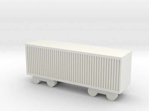1/700 Cargo Wagon 3d printed