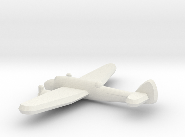 Bristol Beaufort 1:900 in White Natural Versatile Plastic