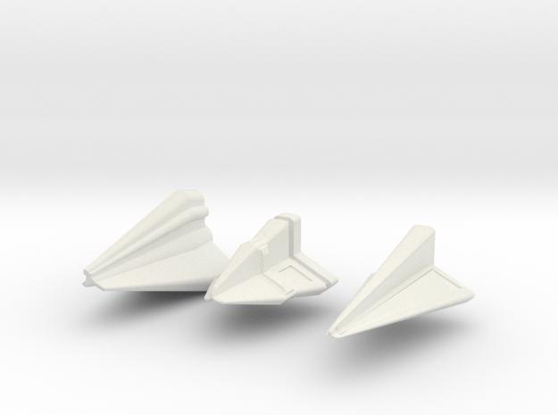 Tholian Fleet 3d printed