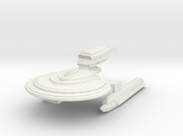Warrior Class Destroyer 3d printed