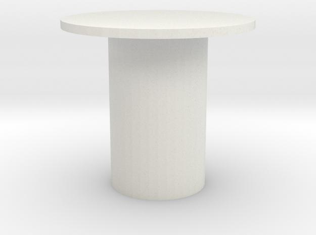Killkey Low Profile in White Natural Versatile Plastic