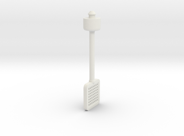 Trap Jaw's Fly Swatter 2014 3d printed