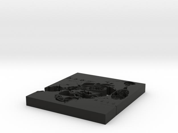 Diver Zero Mini 3d printed
