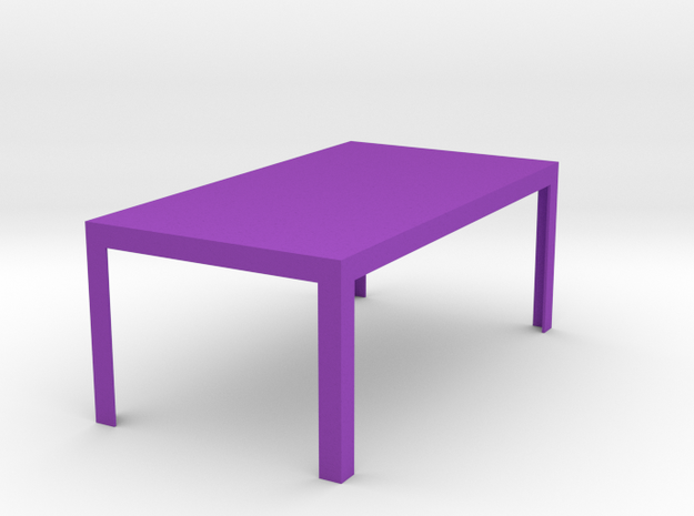 Otto Modern Dining Table 1:12 scale 3d printed