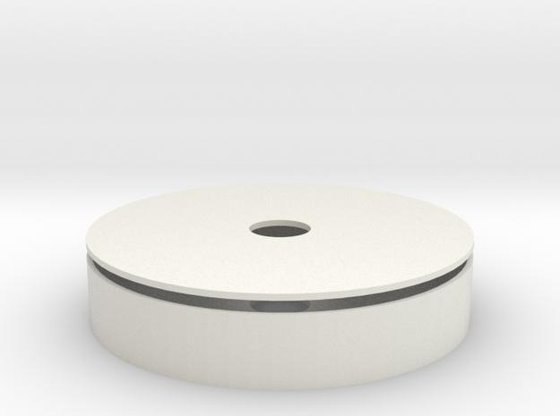 Arc Reactor - Reactor Core in White Natural Versatile Plastic