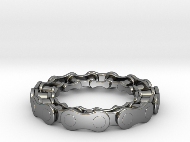 RS CHAIN RING SIZE 9 5 in Premium Silver