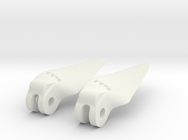 printedprop fold 5x3.5 in White Strong & Flexible