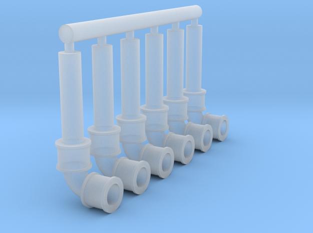90bend 10mm pipe x6 3d printed