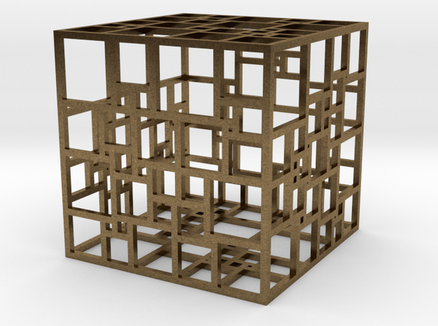 SPSS Cage in Natural Bronze