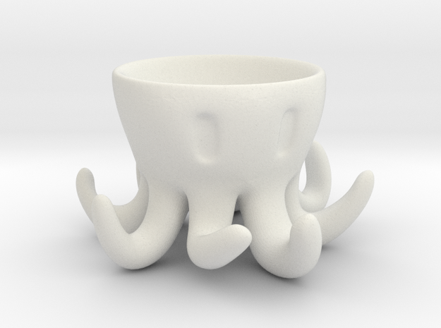 Octopus Egg Holder 3d printed