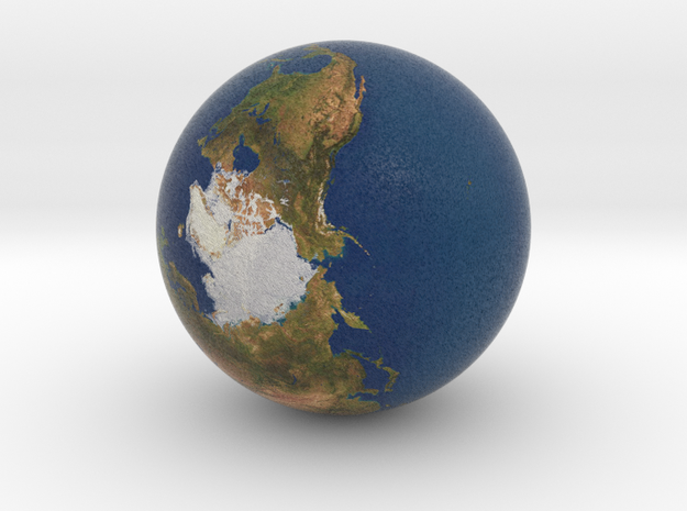"1"" Earth globe for tabletop space games"