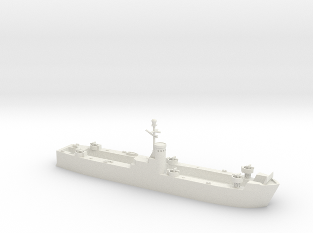 1/600 LSM Early Version in White Natural Versatile Plastic
