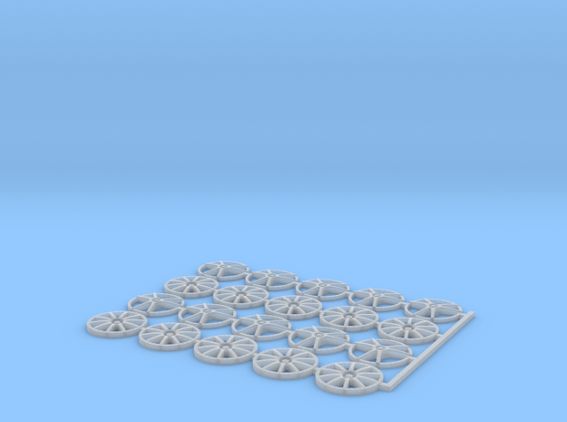 12mm OD wheel inserts in Smooth Fine Detail Plastic