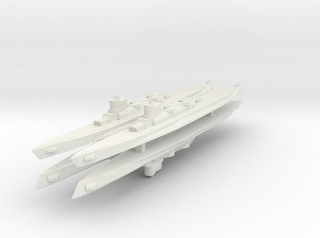 Bywater's Nagasaki Cruiser Submarine 1:3000 x4 3d printed