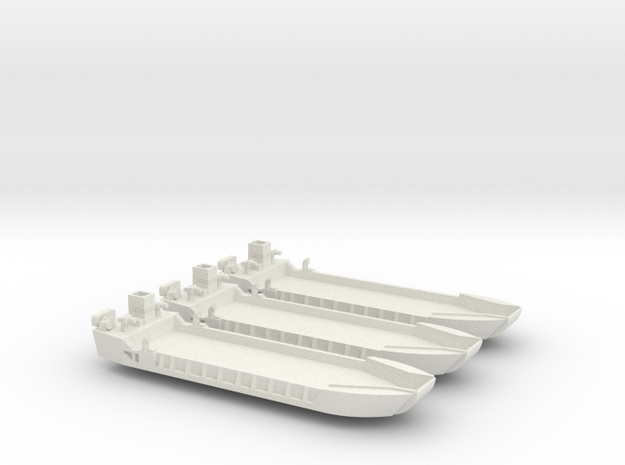 1/600 LCT-5 3 off in White Natural Versatile Plastic