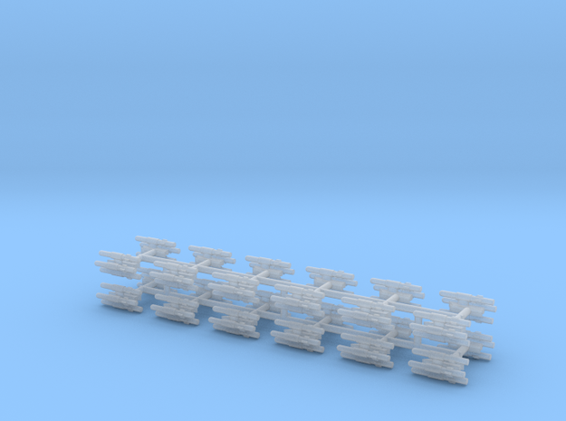 1/350 BLU-107 (Multiple Ejector Rack) (x24) in Smooth Fine Detail Plastic