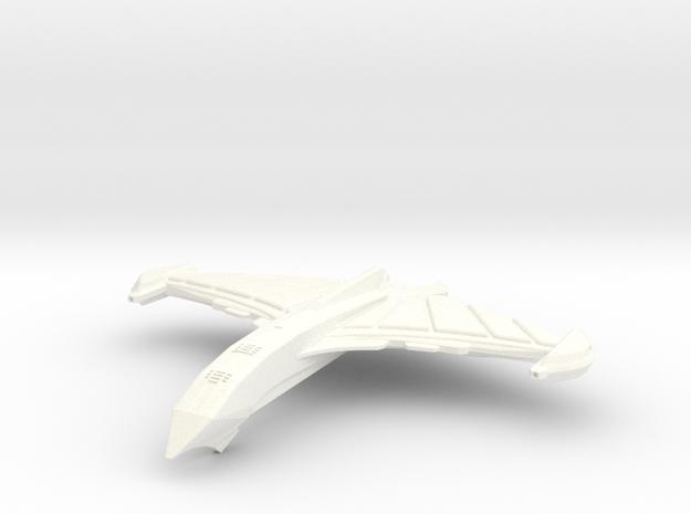 Attack spaceship Blood Hawk (Smaller) in White Processed Versatile Plastic