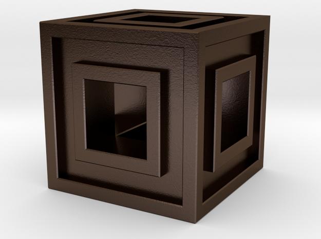Square Bead 3d printed