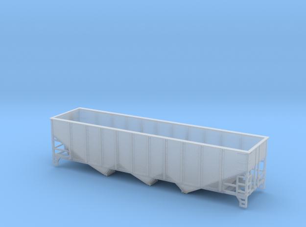 TT Scale 40' Triple Hopper 9 Panel in Smooth Fine Detail Plastic