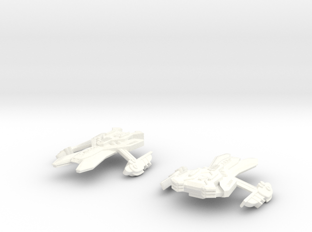 Dominion Matik'Lar Class (set of 2) in White Strong & Flexible Polished