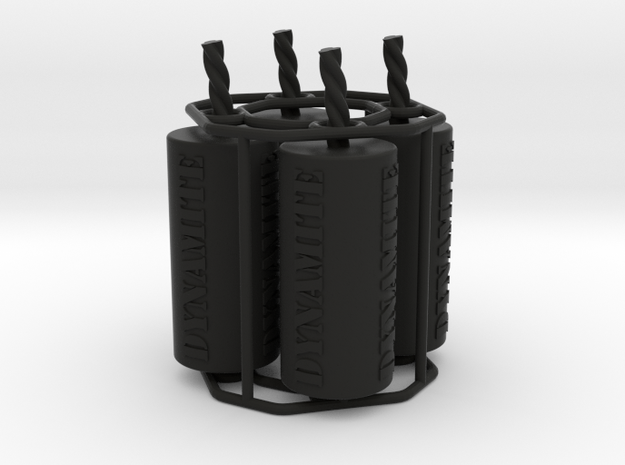 4x dynamite tire valve caps 3d printed