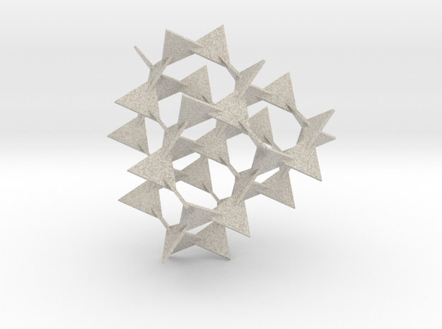 Bamboozle (40 mm triangles) 3d printed