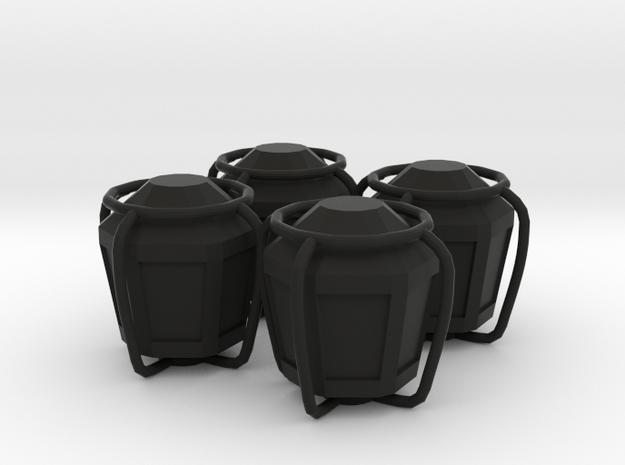 4x Lantern tire valve cap 3d printed