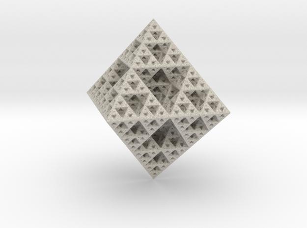 Sirpenski Octahedron in Sandstone