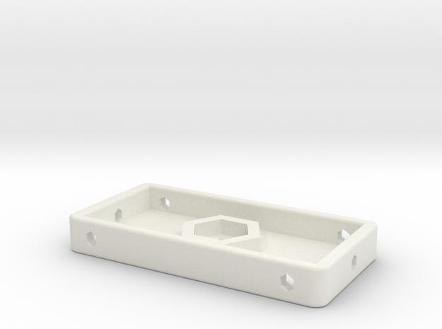 GoPro Iso Tripod Mount in White Natural Versatile Plastic