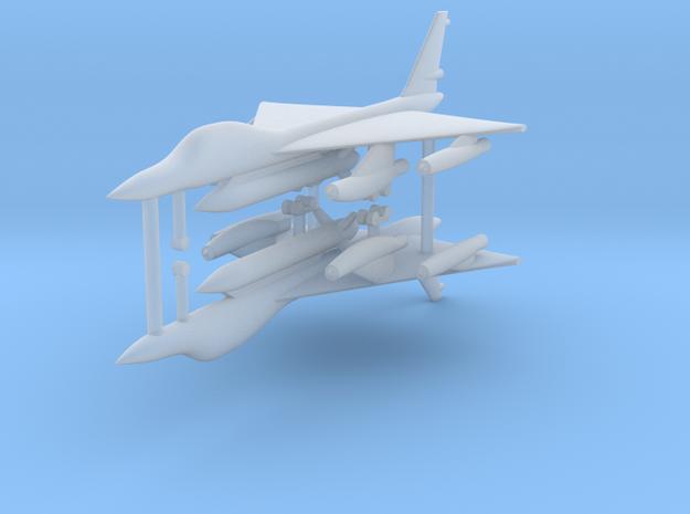 1/600 B-58 Hustler (x2) in Smooth Fine Detail Plastic