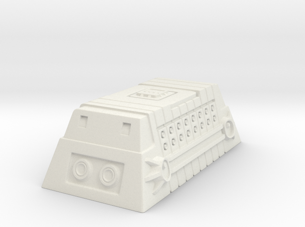 Class-A Cargo Container in White Strong & Flexible