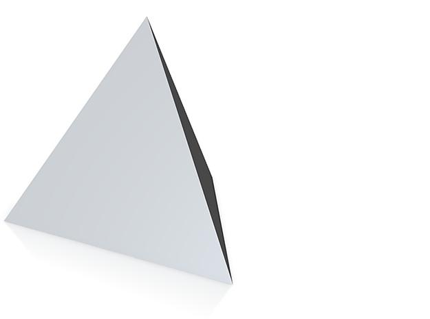 tetrahedron 3d printed