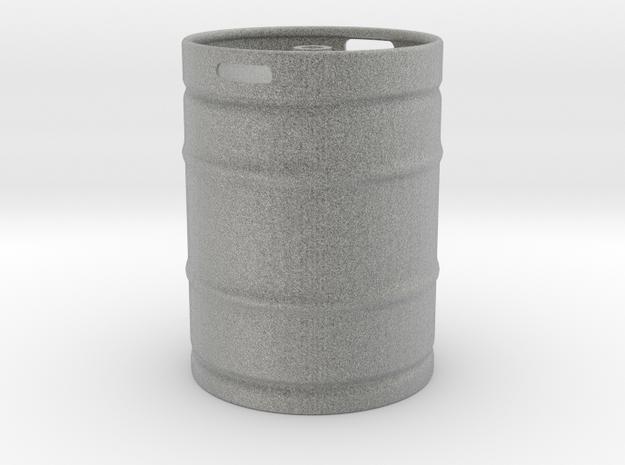Keg in Metallic Plastic