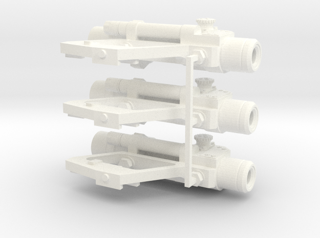1:6 scale Russian PKS-07 Optic SIght Side Mounted  in White Processed Versatile Plastic