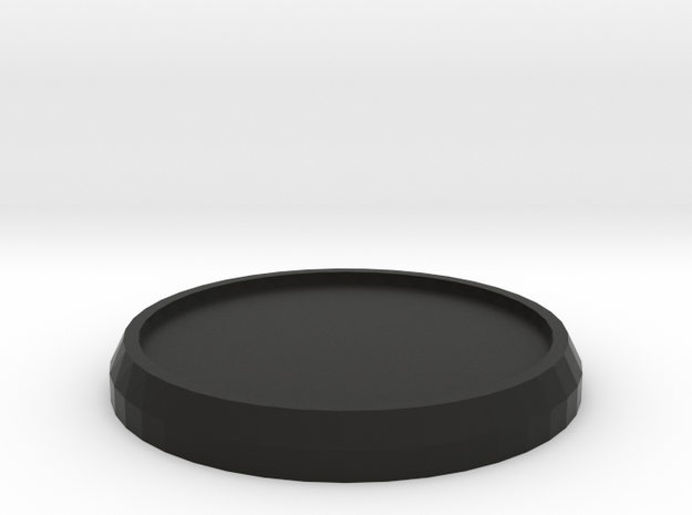 1 Inch Round Base 3d printed