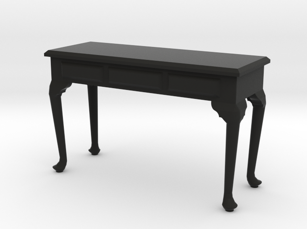 1:24 Queen Anne Plain Console Table, Large 3d printed