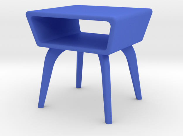 1:24 Moderne Angled Side Table 3d printed