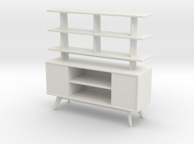1:24 Moderne Room Divider in White Natural Versatile Plastic
