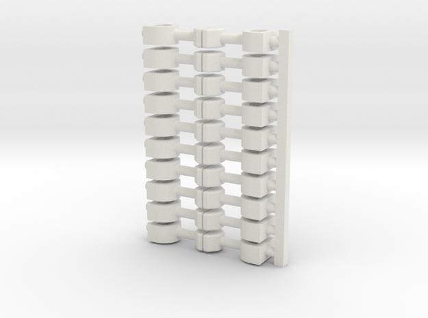10x Scharfenberg(11) 3d printed