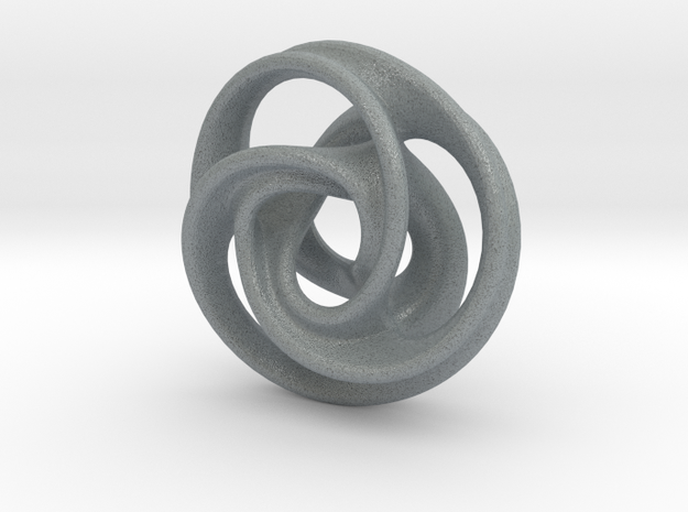 Tri Arm Torus small 3d printed