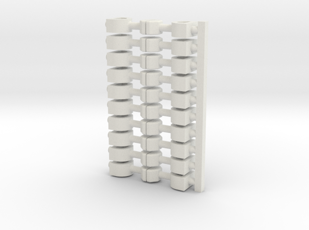 10x Scharfenberg(10) 3d printed
